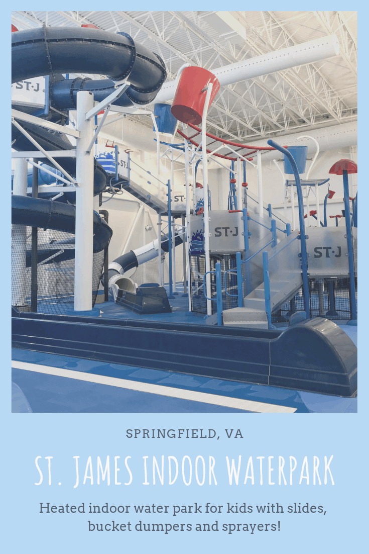 A full review of the indoor water park at the St. James Sports Complex (Springfield, VA)
